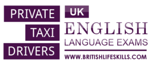 b1 English exam for taxi cab drivers