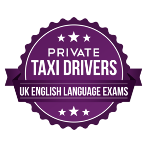b1 english exam for private taxi cab licence